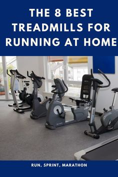 Purchasing the best treadmill for running is usually a significant investment. Your treadmill will be with you for years, so taking some time to research your options is a prudent move. There are so many manufacturers and brands to choose from that you may feel overwhelmed at the selection on offer. Best Treadmill For Running, How To Start Running, Marathon, Good Treadmills, Gym Equipment, Marathons, Workout Equipment