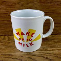 Vintage Wake Up to Milk sunshine Cup Mug Collectable New kiln craft England Wake Up, Sunshine, Cups, Milk, England, Tableware, Crafts, Vintage, Ebay