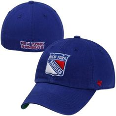 '47 Brand New York Rangers New Franchise Fitted Hat - Royal Blue