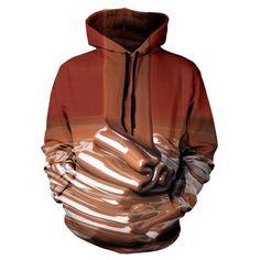 chocolate hoodie pullover yo print clothing