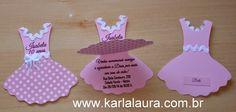 Karla Laura Convites, Lembranças e Papelaria Personalizada: Convite de aniversário 10 anos Isabela - Novidade!...