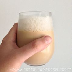 A delicious and refreshing low carb and keto-friendly root beer float mixed with a special shot of dark rum. Perfect drink to enjoy any night of the week.