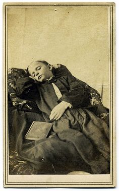 I don't understand why we have stopped post mortem photos? I believe it's a wonderful memorial.