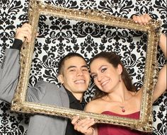 Turn a picture frame into the most creative and fun Wedding Reception idea ever!