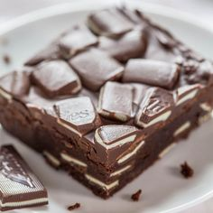 One thing I've always loved are Andes Mints. My grandma used to keep a stash and I knew exactly where it was. I raided it frequently and thoroughly. I've made manydesserts with a baselayer of chocolate, then a mint filling, and a chocolate topping. Love them all, but wanted to change up that pattern. The …