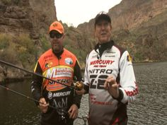 Spooning Bass in deep water with Matt Shura and Genft at Canyon Lake Part 1