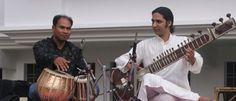 Music Concert at Bhuwan Music School in Rishikesh - India. http://www.bhuwanchandra.com