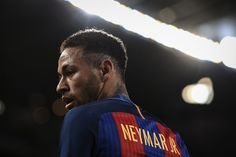 Neymar Jr. of FC Barcelona looks on during the Copa del Rey round of 16 second leg match between FC Barcelona and Athletic Club at Camp Nou on January 11, 2017 in Barcelona, Catalonia.