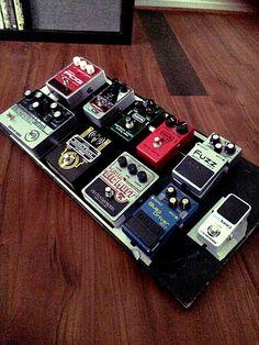 Pedalboard, Guitar Pedals, Fuzz, Rigs, Photo Editor, Guitars, Music Instruments, Create, Musica