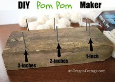 How To Make a Wool P