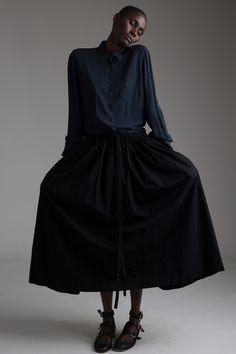 Vintage Yohji Yamamoto Drawstring Skirt