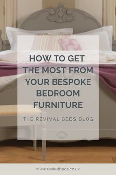 From adding your own personal touch to pairing with other high-quality pieces, these tips will help you elevate your bespoke bedroom furniture. Handmade Bedroom Furniture, Bespoke, How To Get, Touch, Tips, Blog, Home Decor, Taylormade, Decoration Home