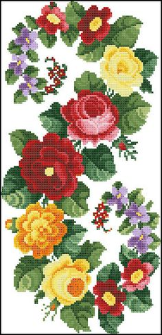 Counted Cross Stitch Pattern PDF Berlin by PterisCrossStitch Cross Stitch Bird, Beaded Cross Stitch, Cross Stitch Borders, Modern Cross Stitch, Cross Stitch Flowers, Counted Cross Stitch Patterns, Cross Stitch Charts, Cross Stitch Designs, Cross Stitching