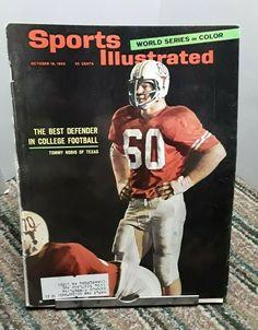 Oklahoma Sooners Football, College Football Teams, Texas Longhorns Logo, Pinup Photoshoot, Nfl Playoffs, Sports Magazine, Minnesota Twins, Vintage Football, Los Angeles Dodgers