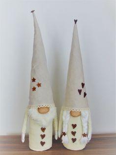 Gnome - Scandinavian Tomte Gnomes, Christmas Stockings, Scandinavian, Holiday Decor, Diy, Home Decor, Needlepoint Christmas Stockings, Decoration Home, Bricolage