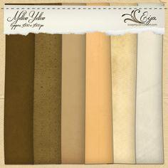 Mellow Yellow paper pack by Eijaite.deviantart.com on @deviantART