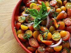 Cheery Cherry Tomato Salad
