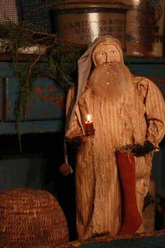 Night Before Christmas Arnett's Santa