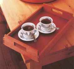 how to build a serving tray