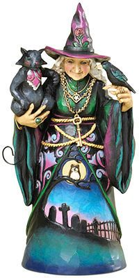 Jim Shore Halloween Witch Collectible Figurine