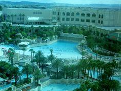 Mandalay Bay Hotel Pool in Las Vegas