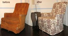 How To: Slipcover a Reading Chair