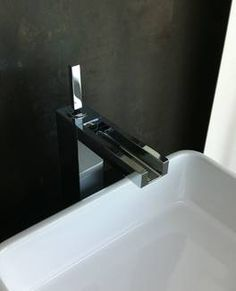 Gessi rettangolo armaturen f r waschtisch badewanne und for Wasserfall armaturen