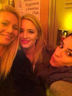 Gwyneth Paltrow, Dianna Agron and Lea Michele
