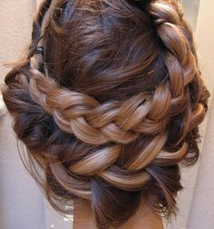 simple double-braide