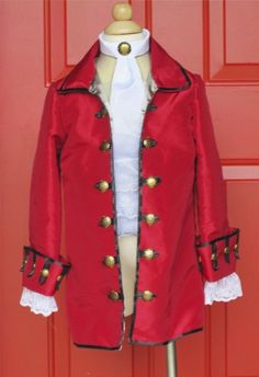 Captain Hook or Pirate coat.