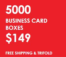 Composed of durable stock with premium quality print and coatings, our #BusinessCardBoxes are easy self tuck, no glue required, and ship flat.