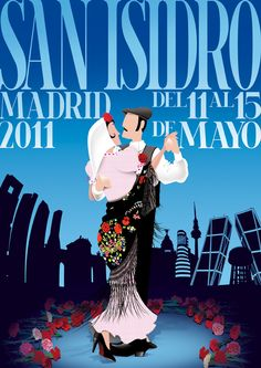 Spanish Culture, Madrid 2016, Made In America, Travel Posters, Vintage Posters, Poster Prints, Drawings, Illustration, City