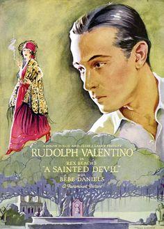 VINTAGE BLOG: Rudolph Valentino