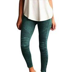 e332b60b748 Dropship Leggings Jeans for Women Denim Pants with Pocket Slim Jeggings  Fitness Plus Size Leggins S-XXL ...