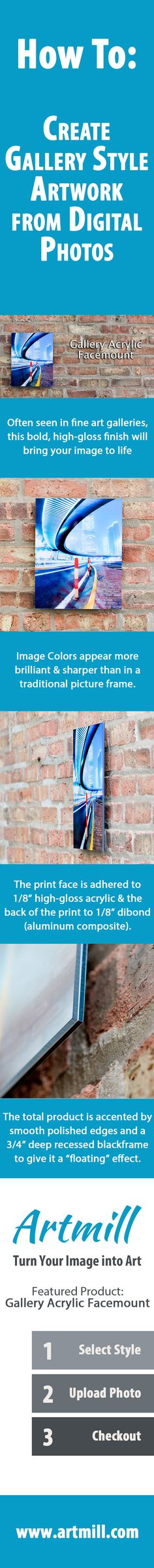 How to: Create Gallery Style Artwork from Digital Photos