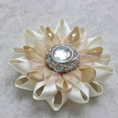 Hey, I found this really awesome Etsy listing at https://www.etsy.com/listing/187616306/ivory-flower-hair-clip-ivory-wedding