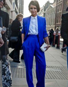 Street style : 20 façons de porter le bleu - Elle