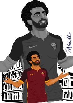 #As_Roma #mohamed_salah #serie_a #ataly #Roma #football #football_players #AS_Roma_fc #AS_Roma_fans #world #art #drawing #draw #my_drawing #art_girl #artist  #رسم #رسومات #رسوماتى #رمزيات #محمد_صلاح #روما #صور #صوره #رمزياتي #جده #جدة #السعودية #الرياض Boy Drawing, Mohamed Salah, Roman Empire, Madrid, Soccer, Football, Sign, Club, Boys