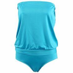 QIYUN.Z Reggiseno Senza Spalline Multicolore Multi-Codice Spiaggia Solido Modo Sexy Costume Da Bagno: Amazon.it: Abbigliamento