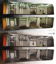 More Secret Lab Concept art Deus  Ex BT Preprod04 by barontieri on DeviantArt #conceptart #scifi