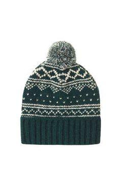 9d82ca1088d Scandi Fairisle Beanie - Hats - Bags   Accessories Pom Pom Beanie Hat