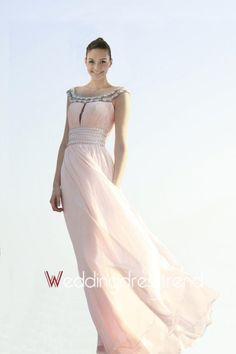 Wholesale and Retail Graceful A-Line Sleeveless Empire Waistline Prom Dress