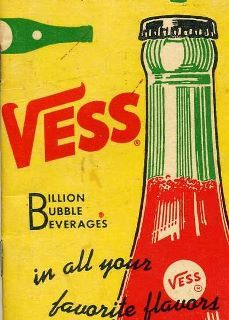 Vess! Vintage ad from St. Louis company