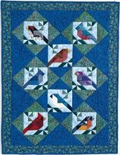 Birds Of A Feather Love this quilt pattern!