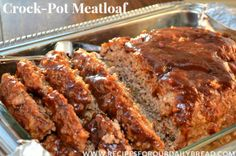 Made half a batch and feed 4, and took 2/3rds the time. #Crock-Pot Meatloaf #meatloaf #bestmeatloaf #crockpot #slow cooker