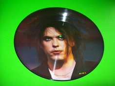 """THE CURE 12"""" PICTURE DISK INTERVIEW LP ROBERT SMITH LIMITED EDITION OF 2500 UK #TheCure #RobertSmith #Gothic #Darkwave #1980s"""