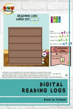 Fun, interactive digital reading logs! These fun reading goal trackers will motivate your elementary students to complete their nightly reading to finish the scenes with movable images! Includes a reading comprehension response for each day of the week.  Also includes how to videos for teachers and students! Check them out to learn more!