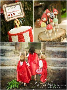 Festa de aniversário: Capuchinho vermelho