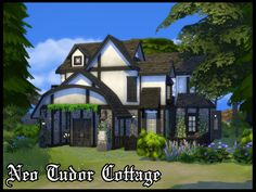 Neo Tudor Cottage by A3ON97 at TSR via Sims 4 Updates