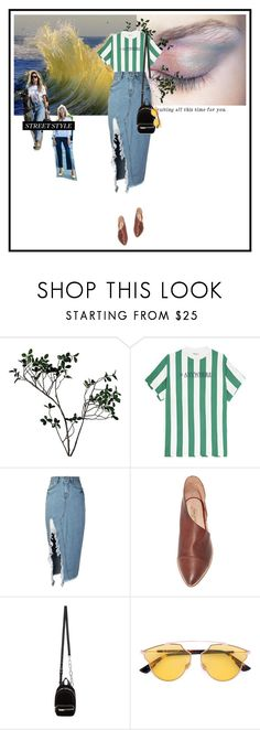 """""""anything"""" by dancingwithyou ❤ liked on Polyvore featuring Abigail Ahern, storets, Free People, Alexander Wang, Christian Dior, StreetStyle and NYFW"""